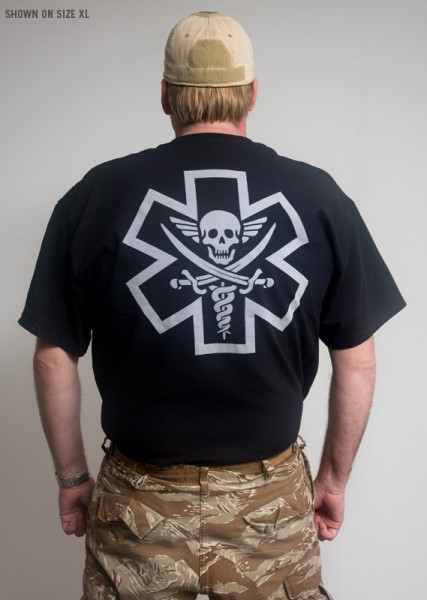 Mil Spec Monkey Tac Med Pirate T shirt