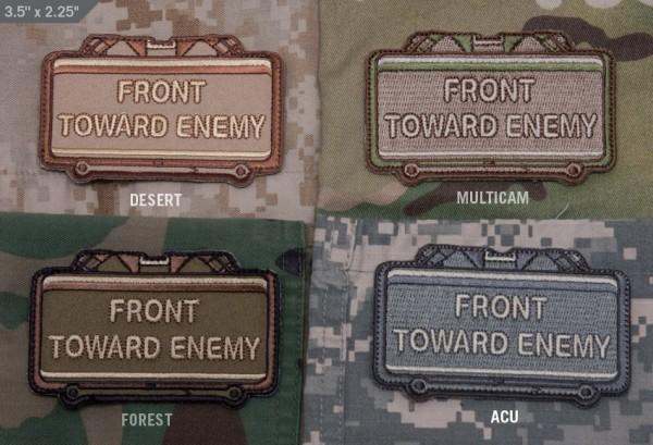 Mil Spec Monkey Patch Front Toward Enemy
