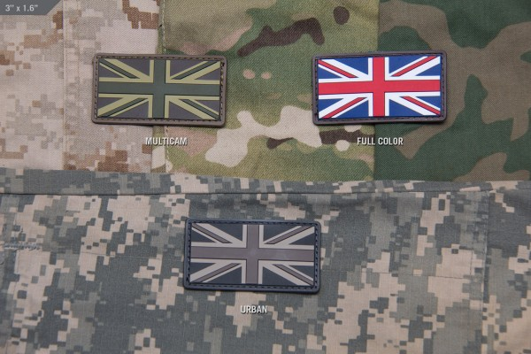 Mil Spec Monkey Patch brittische Flagge PVC