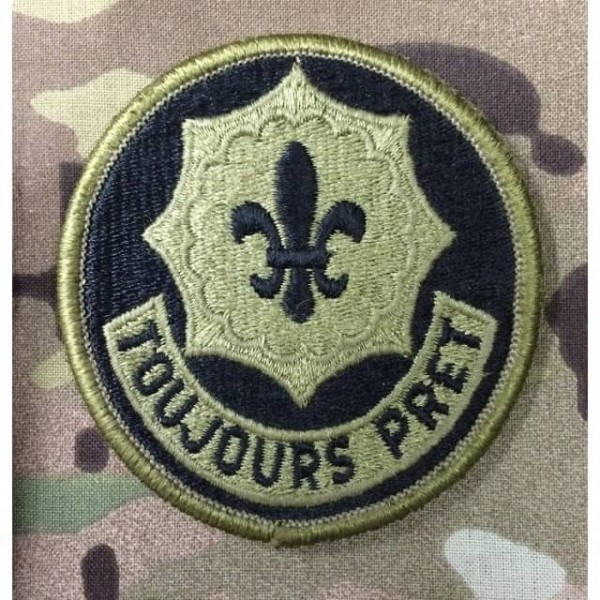 Toujours Pret Stoff Patch