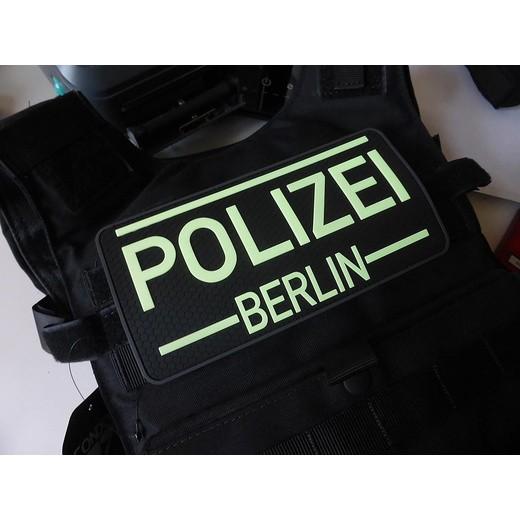JTG Rückenschild Polzei Berlin