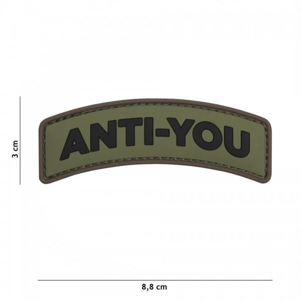3D PVC anti you Patch