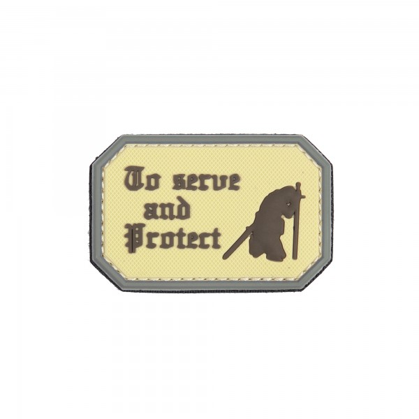 Patch 3D PVC To serve and protect