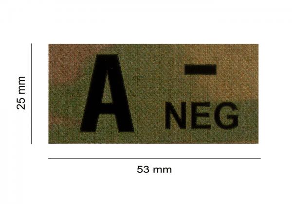 ClawGear IR Infrarot Patch A NEG