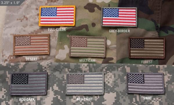 Mil Spec Monkey US Flag Patch