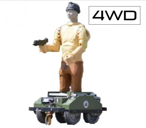 Mover - fahrbares, ferngesteuertes Zielmodul (4WD) Schießziel