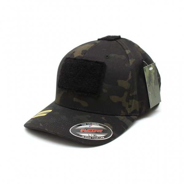 LBT Flexfit Shooters Cap Black Multicam