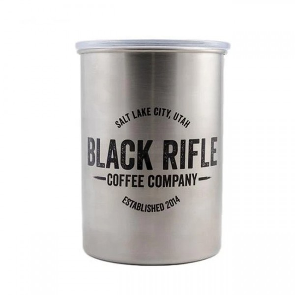 Black Rifle Coffee Company Steel Cafe Container