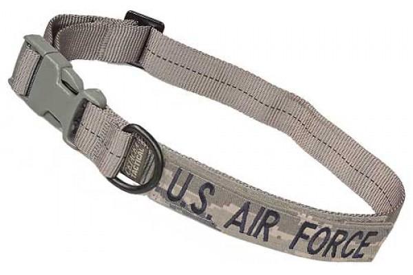 Cetacea Taktisches Hundehalsband U.S. AIR FORCE mit Patch