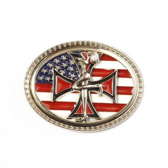 Gürtelschnalle USA Flagge
