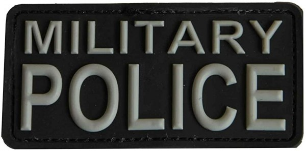 Patch 3D PVC Military Police