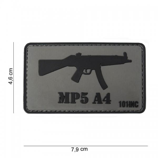 3D PVC MP5 A4 Patch