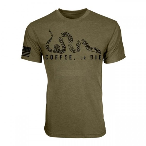 Black Rifle Coffee Coffee Or Die T Shirt