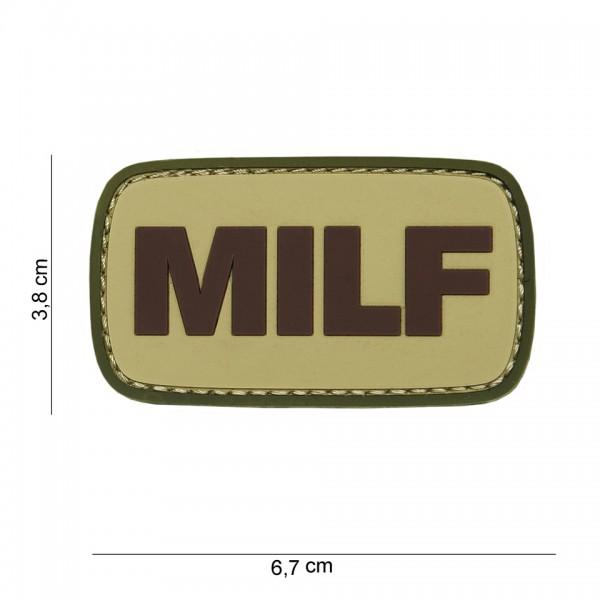 3D PVC Milf Patch