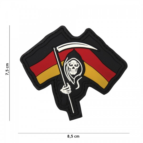 3D PVC German Reeper Patch