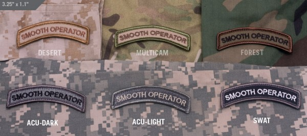 Mil Spec Monkey Patch Smooth Operator