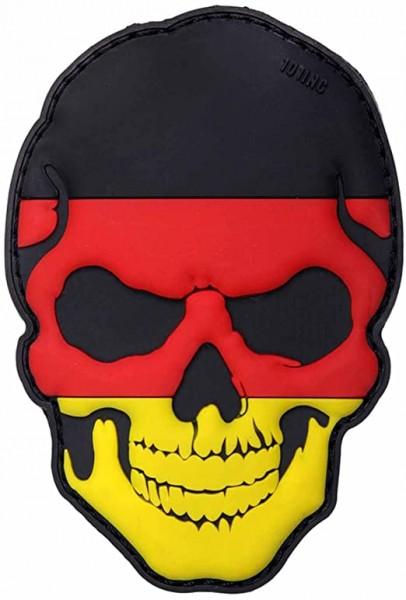 PVC 3D Patch Totenkopf Deutschland
