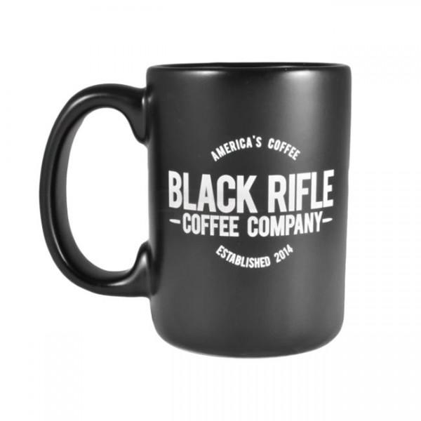 Black Rifle Coffee America's Coffee Logo Ceramic Mug