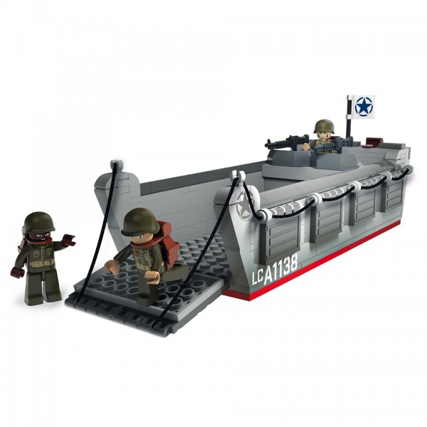 Sluban WWII Landing Craft Assault landungsboot