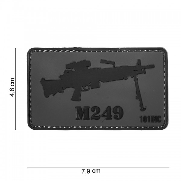 3D PVC M249 Patch