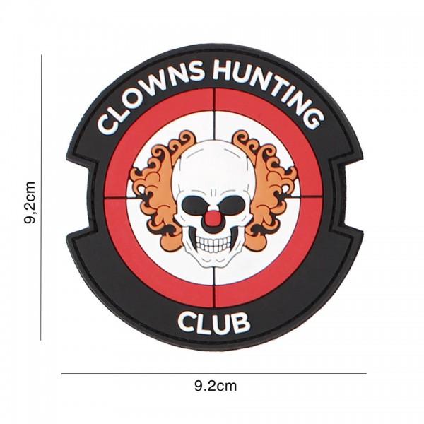 3D PVC Clowns Hunting Club Patch
