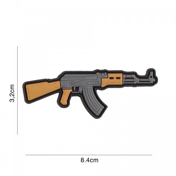 3D PVC AK 47 Patch
