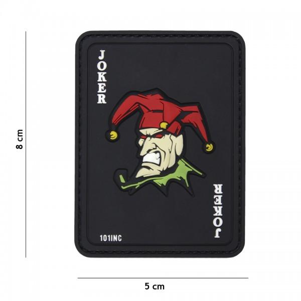 Patch 3D PVC Joker