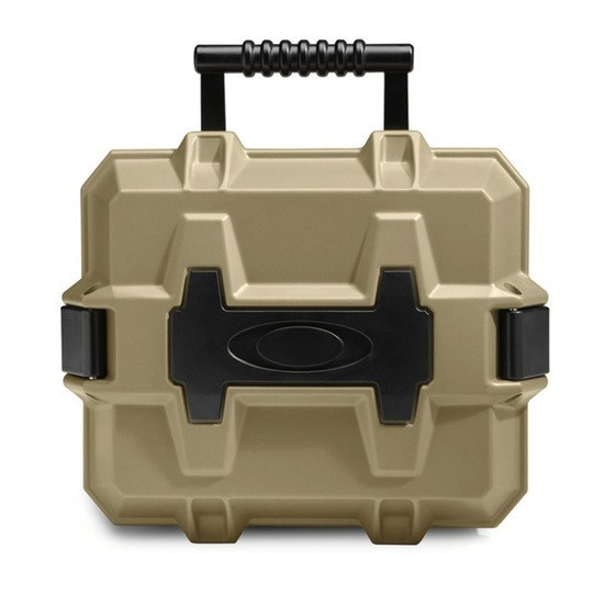 Oakley SI Strong Box Accessories Case Terrain Tan
