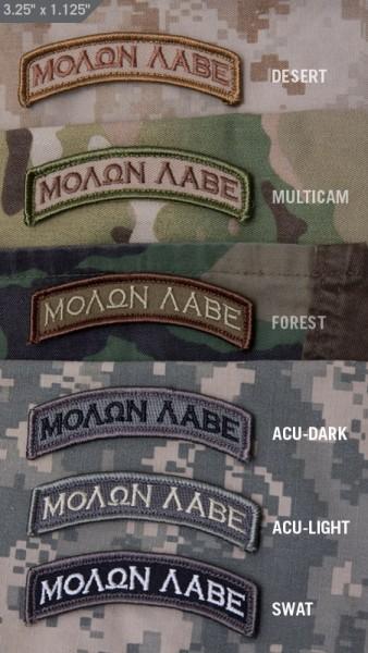Mil Spec Monkey Patch Molon Tab