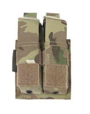 Warrior Assault Systems Direct Action Double DA 9mm Pistol Pouch multicam