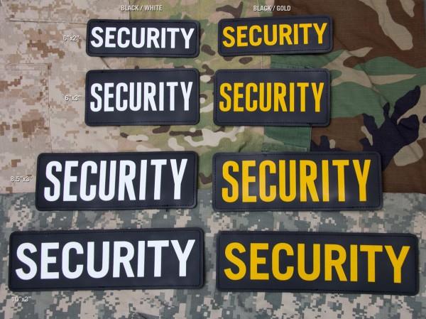 Mil Spec Monkey Patch PVC Security