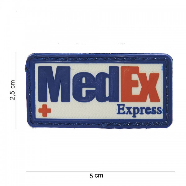 3D PVC medex express Patch