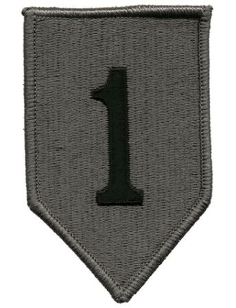 Patch 1st Infantry Division ACU Klett