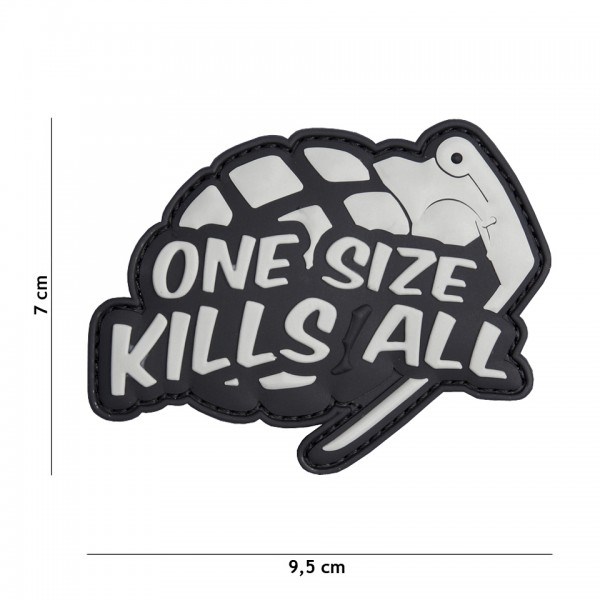 3D PVC One Size Kills All Patch