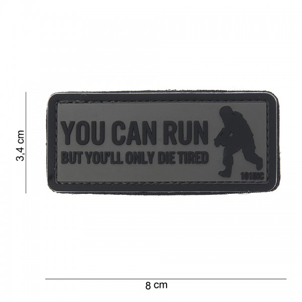 PVC 3D Patch You can run