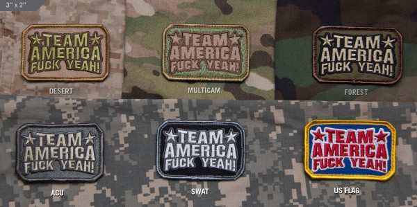 Mil Spec Monkey Patch Team America