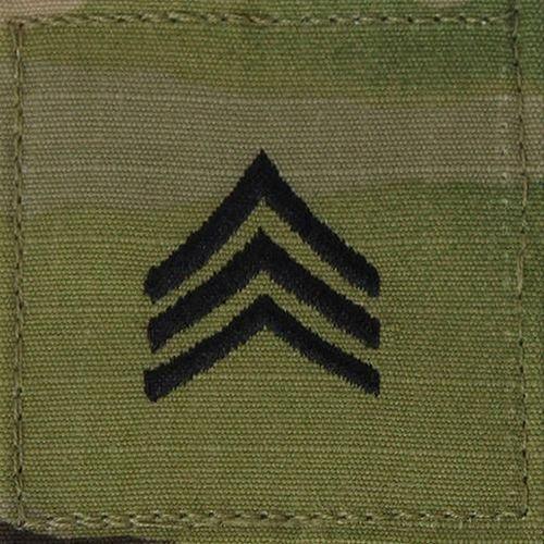 OCP Sergeant E5 Rang Patch