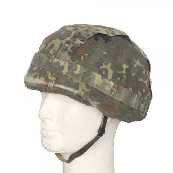 BW Helmbezug Flecktarn Gebraucht