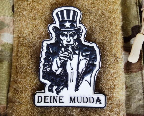 PW Deine Mudda 3D PVC Patch