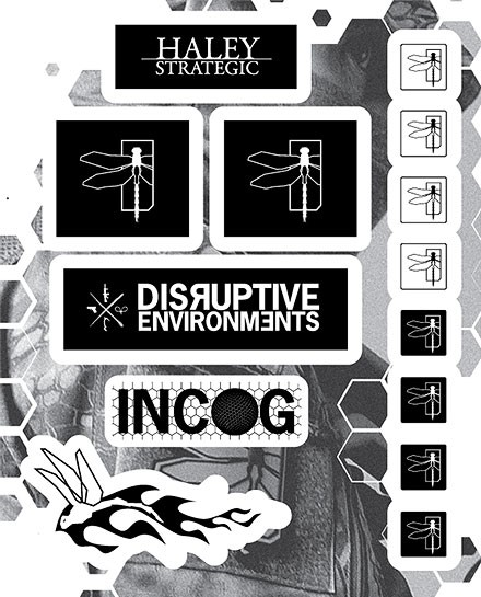 Haley Strategic Decal Sticker Set