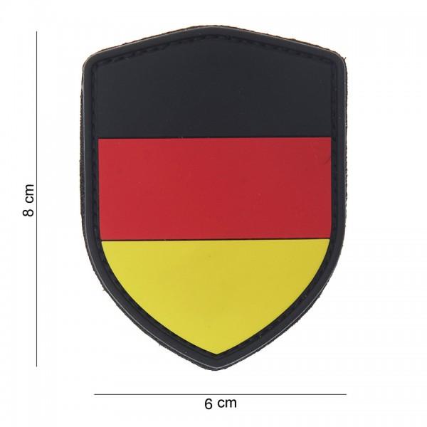 3D PVC Schild Deutschland Patch