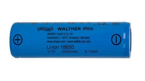 Walther ICR18650 LI-ION Wiederaufladbare Batterie