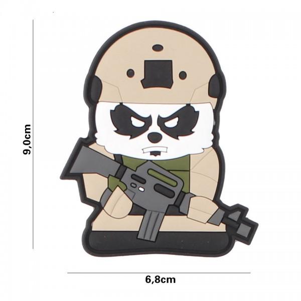 PVC 3D tactical panda Patch