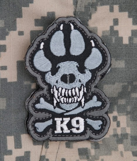Mil Spec Monkey K9 Short Patch