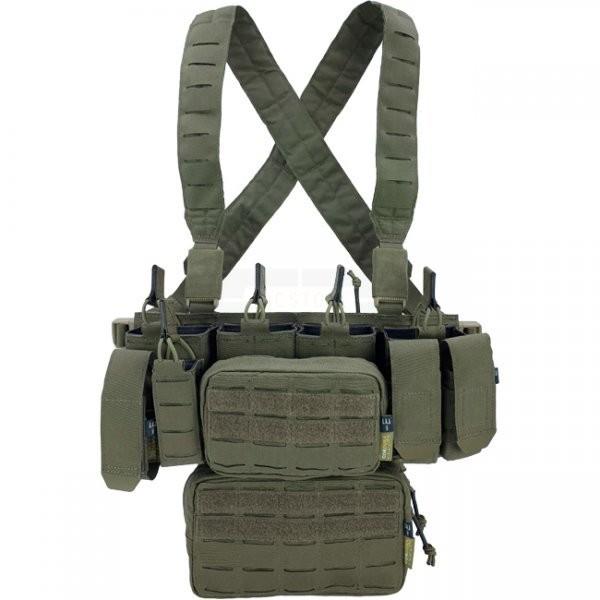 Pitchfork MCR Modular Chest Rig Complete Set - Ranger Green