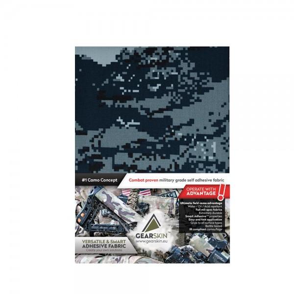 Gearskin EXTRA Tarnklebefolie Digital Navy V2