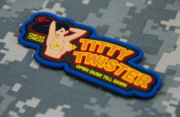 Mil Spec Monkey Patch Titty Twister PVC