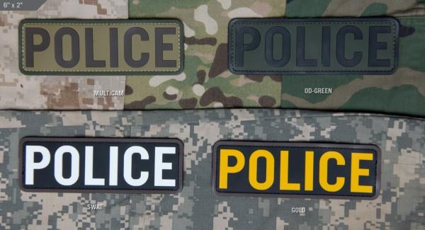 Milspec Monkey POLICE PVC Patch