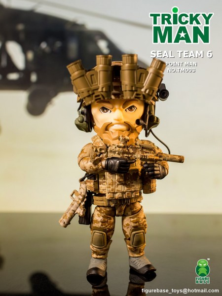 Trickyman TM003 Seal Team 6 Squad Gruppenführer