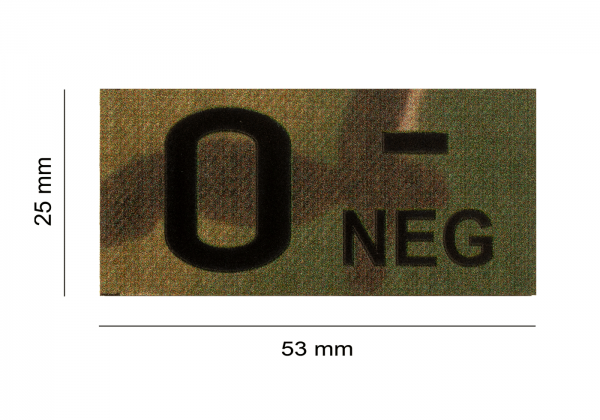 ClawGear IR Infrarot Patch 0 NEG